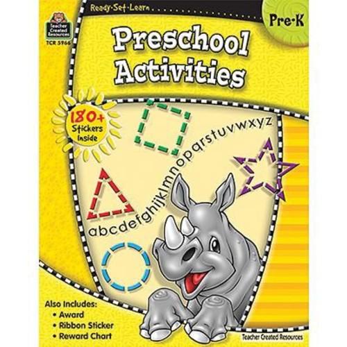 Teacher Created Resources Ready -Set -Learn, Pre School Activities Book