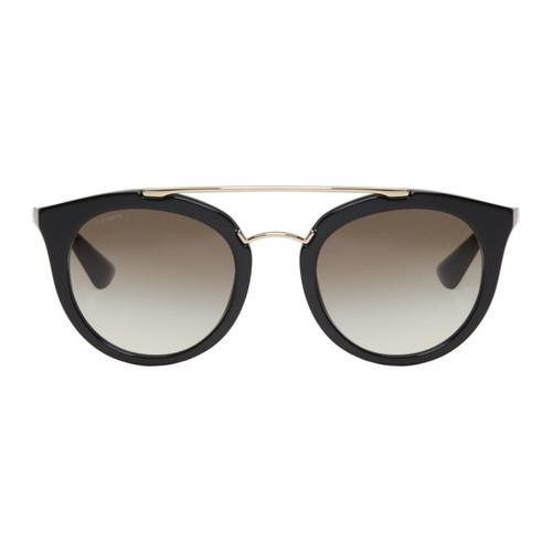 PRADA Black Pantos Sunglasses