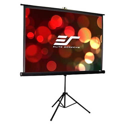 Elite Screens T99UWS1-Pro Tripod Pro Portable Tripod Manual Pull Up Projection Screen (99