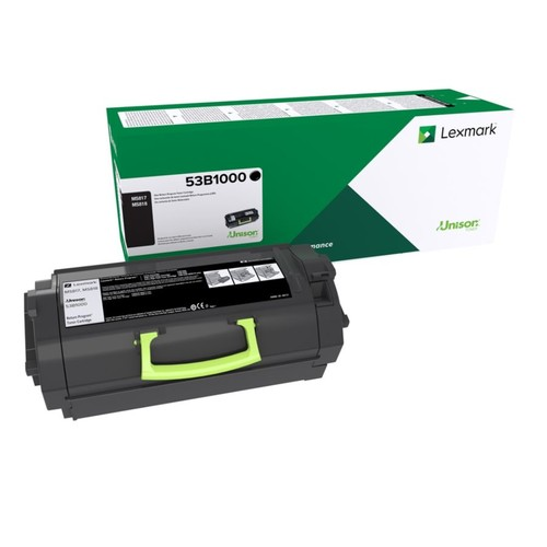Lexmark 53B1000 Return Program Black Toner Cartridge