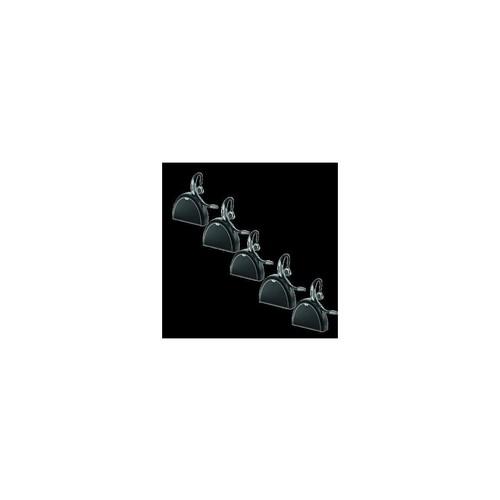 Jabra Motion UC Bluetooth Headset w/ Travel & Charge Kit NFC Tech & Noise Blackout (5Pack)