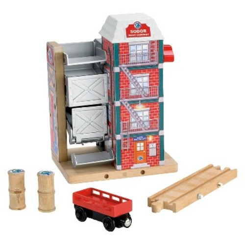 Fisher-Price Thomas & Friends Wooden Railway Sodor Paint Factory