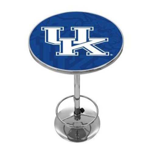 Trademark University of Kentucky Fade Chrome Pub/Bar Table