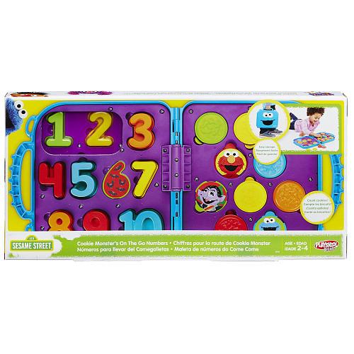 Playskool Friends Sesame Street Cookie Monster's On The Go Numbers