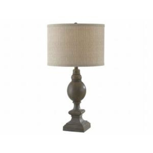 Kenroy Home Andover 29 in. Driftwood Table Lamp