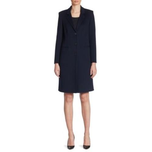 ARMANI COLLEZIONI Cashmere Button Front Coat