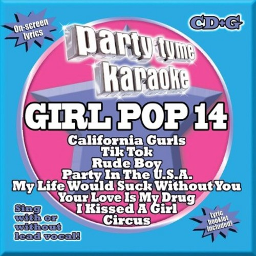 Karaoke - Party Tyme Karaoke: Girl Pop, Vol. 14 (CD)
