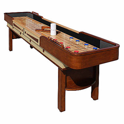 Hathaway Merlot 12-Ft Shuffleboard Table - JCPenney
