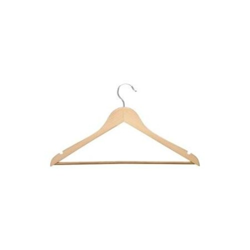 Honey-can-do HNG-01334 24-Pack Suit Hanger, Maple - for Clothes - Wood - 24 Pack