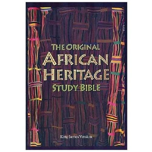 The Original African Heritage Study Bible; Bonded Leather