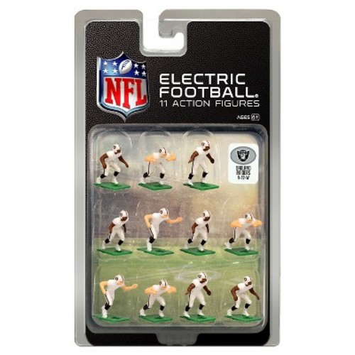Tudor Games Oakland Raiders White Uniform NFL Action Figure Set