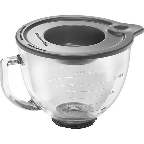 KitchenAid - 5-Quart Mixing Bowl - Clear