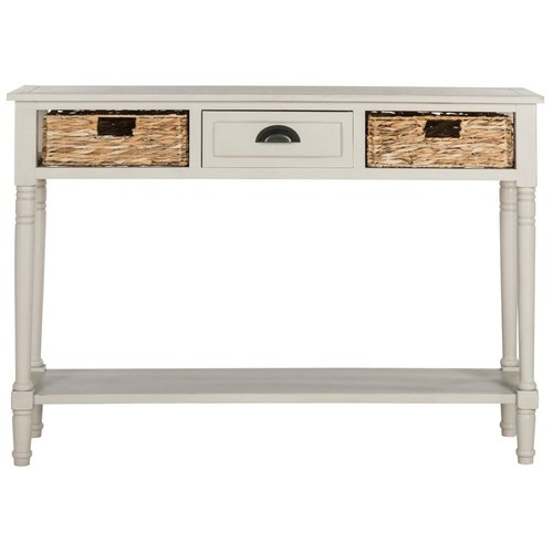 Safavieh Christa Vintage Gray Storage Console Table
