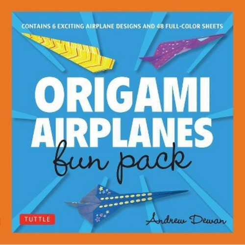 Origami Airplanes Fun Pack (Hardcover) (Andrew Dewar)