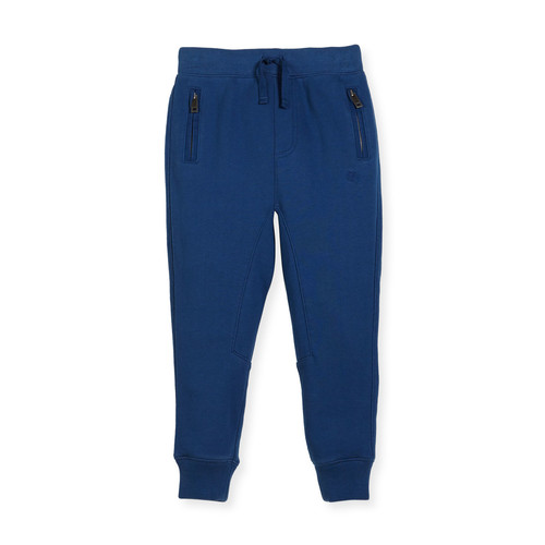 BURBERRY Phill Cotton Track Pants, Size 4-14