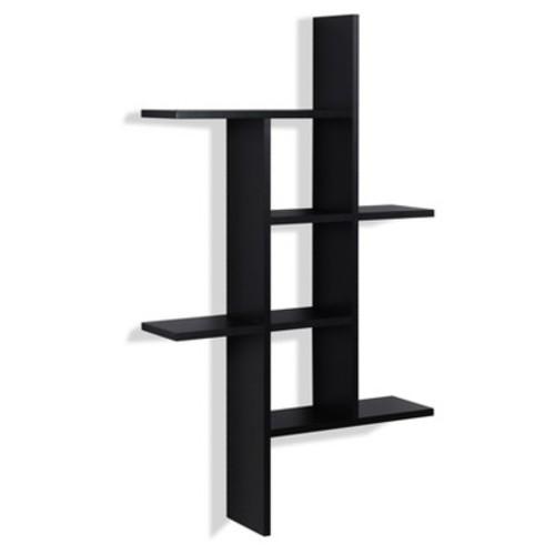 Cantilever Wall Shelf - Black - Danya B.
