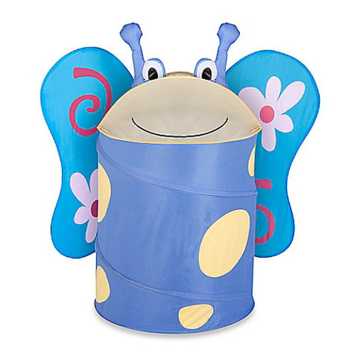 Blossom the Butterfly Large Clothes Hamper