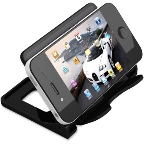 Deflecto 200504 Smartphone Stand - Retail Packaging - Black
