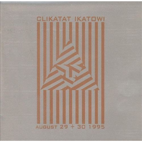 August 29 & 30 1995 (Live) CD (2012)