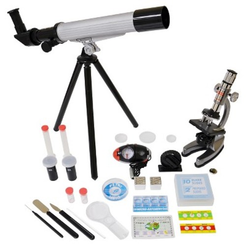 EDU-Toys Microscope/Telescope Set w/Survival Kit