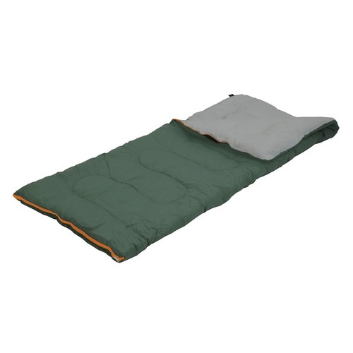 Stansport Scout Rectangular Sleeping Bag [Green, One Size]
