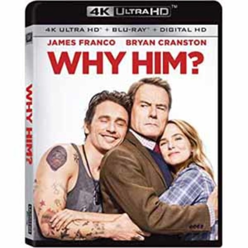 Why Him? [4K UHD] [Blu-Ray] [Digital HD]