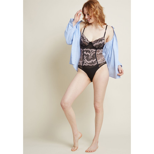 Use Your Intrigue Lace Bodysuit
