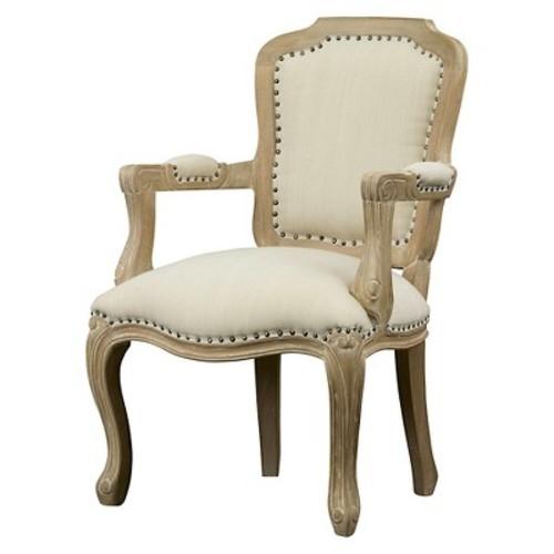 Baxton Studio Poitou French Accent Chair