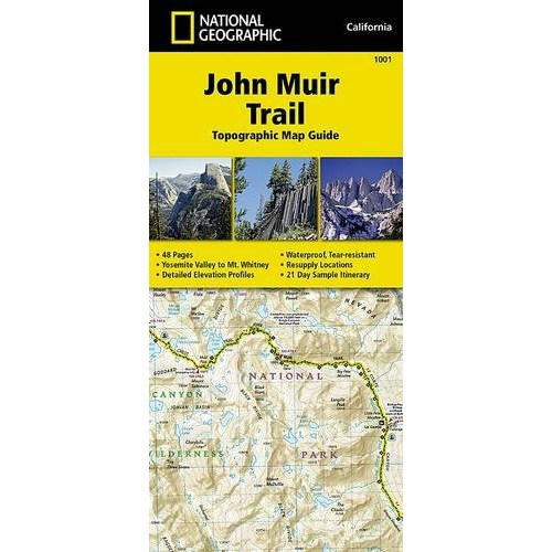 John Muir Trail Topographic Map Guide (National Geographic Topographic Map Guide)