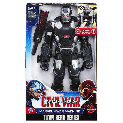 Marvel Civil War Captain America Titan Hero Series 12 inch Action Figure - Marvel's War Machine