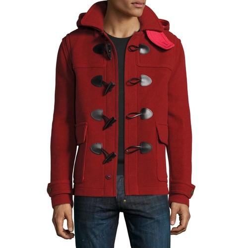 BURBERRY Burwood Duffle Jacket With Detachable Hood