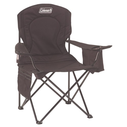 Coleman Cooler Quad Chair - Black