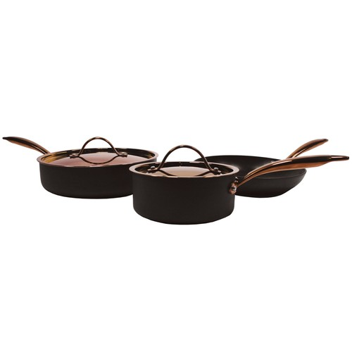 BergHOFF Ouro Hard-Anodized 5-Piece Cookware Starter Set