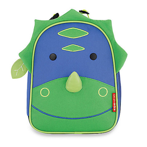 SKIP*HOP Zoo Lunchies Dinosaur Insulated Lunch Bag