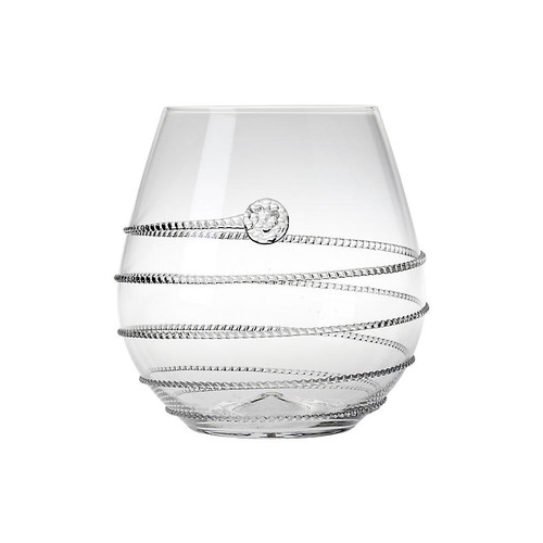 Amalia Stemless Red-Wine Glass, Clear