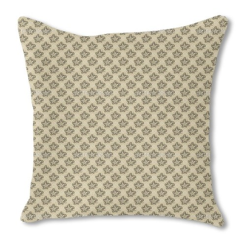 Sweet Creeps Burlap Pillow Single Sided