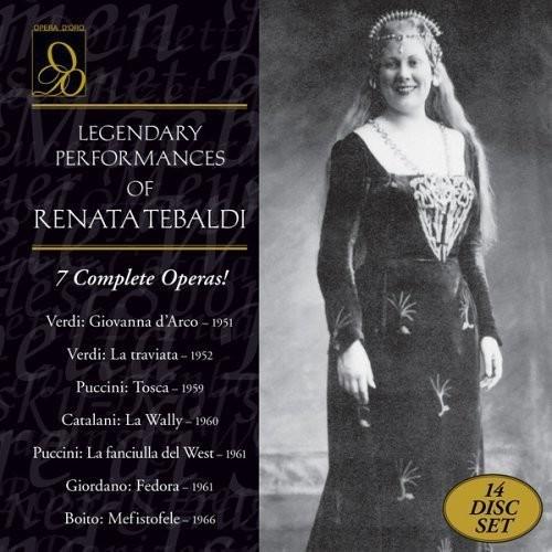 Legendary Performances of Renata Tebaldi