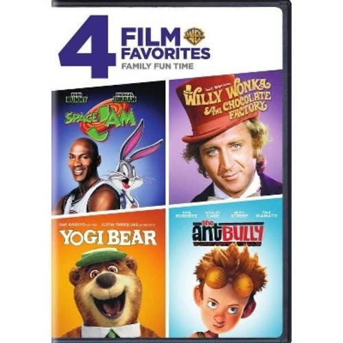 4 film favorites:Family film fun time (DVD)