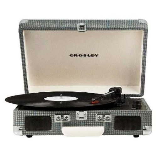 Crosley Cruiser Portable Turntable - Gray Tweed