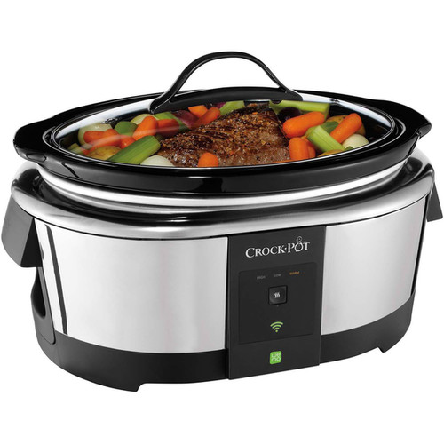 Crock-Pot 6-quart Smart Slow Cooker with WeMo (Wi-Fi Enabled)