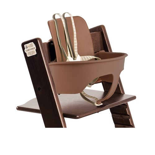 Stokke Tripp Trapp Chair Baby Set, Walnut Brown [Walnut Brown]