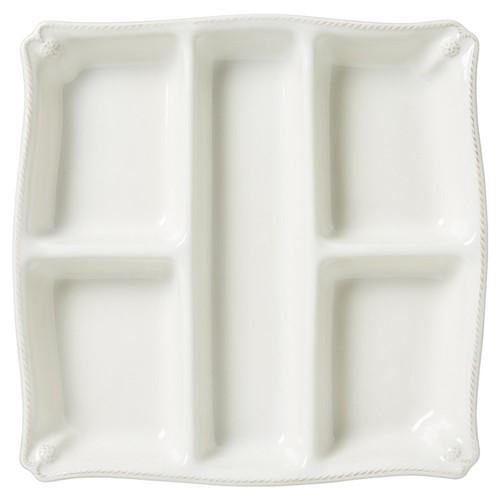 Berry & Thread Snack Platter, White