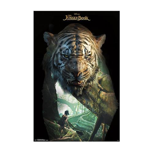 Disney The Jungle Book Shere Khan Poster
