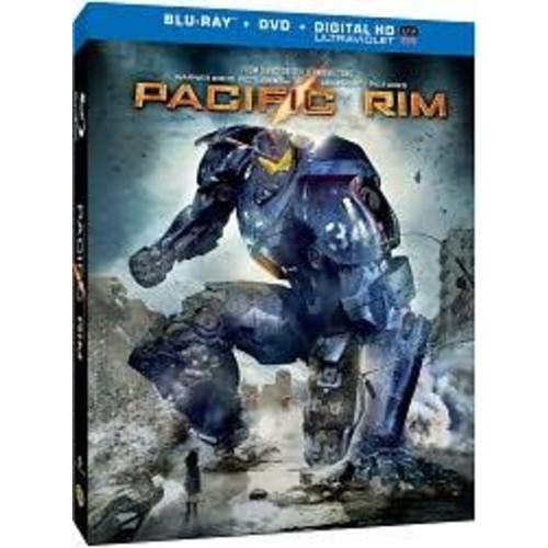 Pacific Rim [2 Discs] [Includes Digital Copy] [UltraViolet] [Blu-ray/DVD] [Blu-Ray]