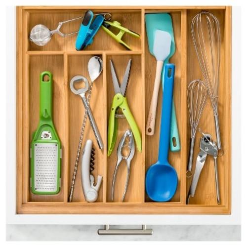 Seville Expandable Cabinet Shelf Organizer - Silver