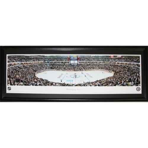 Midway Memorabilia Winnipeg Jets Mts Centre Panorama Frame