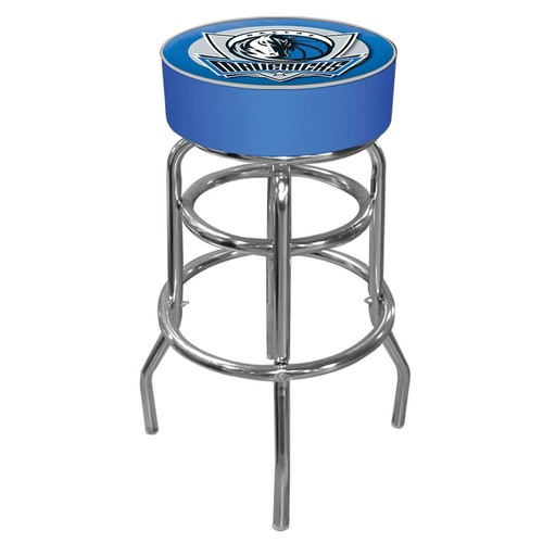 Dallas Mavericks Padded Swivel Bar Stool