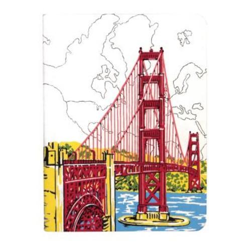 San Francisco Golden Gate Handmade Journal