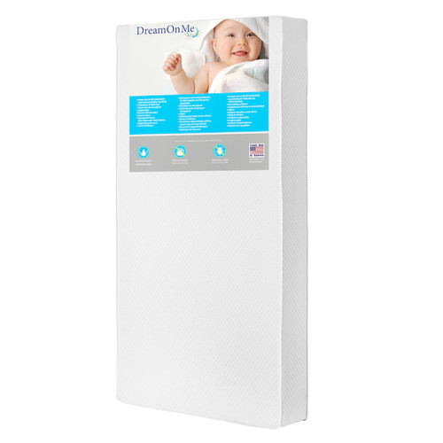 Dream On Me Lavender Breathable 6 Core Crib & Toddler Bed Mattress