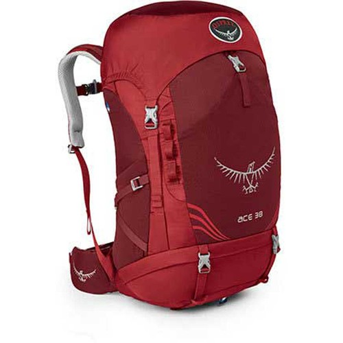 Osprey Ace 38 Kid's Backpack [Paprika Red-395]